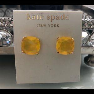 Kate Spade ♠️ NWT Earrings (Yellow)